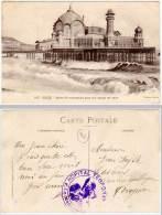 Nice - Jetée-Promenade ...(cachet Militaire Hôpital Temporaire) - Monuments, édifices