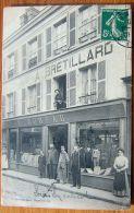 Cpa NOGENT LE ROI 28 Devanture Magasin BUREAU, Ancienne Maison BRETILLARD, Confection - Nogent Le Roi