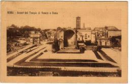 Italie Italia Lazio  ROMA Avanzi Del Tempio Di Venere E Roma 14-5-1910    Ediz 473 Riserv Coop - Roma