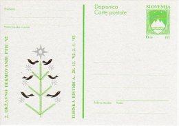 SLOVENIA 1992 6.00 T.  Arms Commemorative Postal Stationery Card, Unused.  As Michel P4 - Slovenia