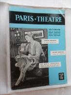 ANCIENNE REVUE  ANNEES 50  /  PARIS THEATRE No 120 - Toneel & Vermommingen