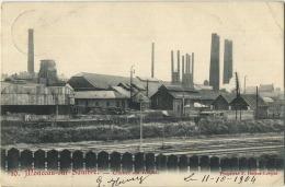 Monceau-sur-sambre :  Usines Du Ruau  (  Ecrit 1904 Avec Timbre ) - Belgique