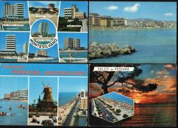 PESCARA - LOTTO 4 CARTOLINE PESCARA E MONTESILVANO - Pescara