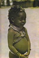 CPSM ANGOLA ENFANT NOIR PARE DE BIJOUX JOVEM MUMUILA - Angola