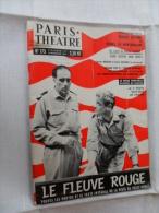ANCIENNE REVUE  ANNEES 50  /  PARIS THEATRE No 173 - Toneel & Vermommingen