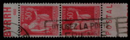 ~~~ France Pub Yv. 283 (o) - Byrrh Sec Et (Courant) Postal ~~~ - Publicités
