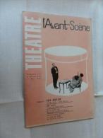 ANCIENNE REVUE  ANNEE  61  /   THEATRE  L'AVANT SCENE  No 242 - Toneel & Vermommingen