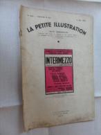 ANCIENNE REVUE / LA PETITE ILLUSTRATION No  625  -  MAI   1933 - Théatre & Déguisements