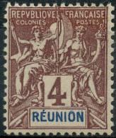 Reunion (1892) N 34 * (charniere)