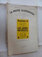 ANCIENNE REVUE / LA PETITE ILLUSTRATION No  877  -  JUIL  1938 - Toneel & Vermommingen