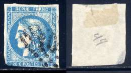 France 44(o)  Used     Faults    Cv$45 - 1863-1870 Napoleon III With Laurels