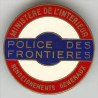 POLICE - POLICE DES FRONTIERES - Police & Gendarmerie