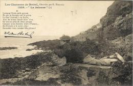 Bretagne - Les Chansons De Botrel  Illustration De E.Hamonic- 1236 - La Jalouse - Contes, Fables & Légendes