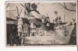 CHALON SUR SAONE (71) CARTE PHOTO DU CARNAVAL 1939  S M CARNAVAL XXVI AUX SPORTS D'HIVER - Chalon Sur Saone
