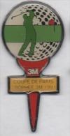Golf , Coupe De Paris , 3M , 1991 - Golf
