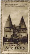 """IMAGE CHOCOLAT SUCHARD N° 295 : """" Beauvais Les Tours Du Palais De Justice """" MILKA Lait VELMA Fondant - Suchard"""