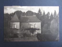 CP FRANCE (V01) SAINT-HILAIRE-les-COURBES (2 Vues) Château Des RAUX 06 Juin 1940 Marcophilie - Autres Communes