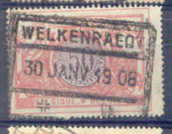 A359 -België  Spoorweg Chemin De Fer  Met Stempel WELKENRAEDT - 1895-1913