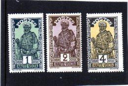 Alto Volta - Guerriero (nuovi Senza Gomma) - Obervolta (1920-1932)