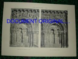 Vienne - Église NOTRE DAME LA GRANDE A POITIERS .....( 2 Planches...) - Other Plans