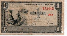 Billet De Banque VIET-NAM Môt Dông 1 - 30 A... - Vietnam