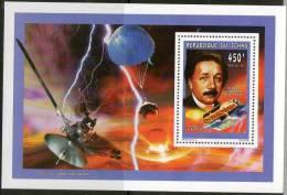 TCHAD EINSTEIN (Yvert BF De Luxe N°858) NON DENTELE, IMPERFORATE. NEUF MNH**. MNH - Albert Einstein