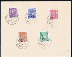 Italy Rep. Soc. Campione Local Issues, Cover With Mixed Stamps - 4. 1944-45 Social Republic