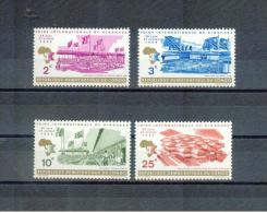 KONGO , Dem.Rep.. CONGO  , ** , Mnh , Postfrisch ,   Mi.Nr. 335 - 338 - Dem. Republik Kongo (1964-71)