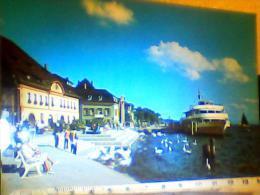 GERMANY UBERLINGEN BODENSEE NAVE SHIP FERRY KONSTANZ V1987 EI3770 - Ueberlingen