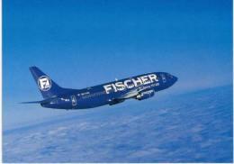 Thème -  Avion -  FISCHER Air - Boeing 737-300 OK FAN - - 1946-....: Moderne