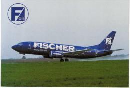 Thème -  Avion -  FISCHER Air - Boeing 737-300 - 1946-....: Moderne