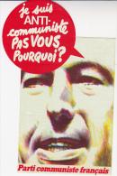 AUTO COLLANT DU  PARTI COMMUNISTE FRANCAIS  ANNEE 1975 79 - Andere Verzamelingen