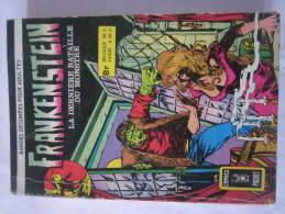 BD  - ALBUM FRANKENSTEIN   éditions  ARTIMA 1975 - Petit Format - En Bon état - - Frankenstein