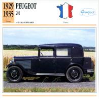 France 1929-35 - Peugeot 201 - Cars