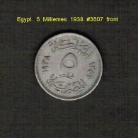 EGYPT    5  MILLIEMES  1938  (KM # 363) - Egypt