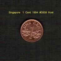 SINGAPORE    1  CENT  1994  (KM # 98) - Singapore