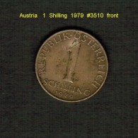 AUSTRIA    1  SCHILLING  1979  (KM # 2886) - Austria