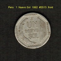 PERU    1  NUEVO SOL  1992  (KM # 308.1) - Peru