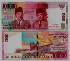 INDONESIA - 100000 Rupiah 2004/2008  Pick 146  UNC - Indonésie