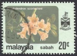 Sabah, 20 C. 1979, Sc # 37, Mi # 36, Used - Sabah