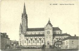 Nº28 VITRÉ - EGLISE SAINT-MARTIN - Vitre