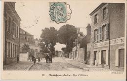 MEUNG SUR LOIRE : RUE D´ORLEANS HOTEL CAFE DU GRAND TURC TENUS PAR J. LAFFRAY MARECHAL FERRANT (Quartier Saint Pierre) - Autres Communes