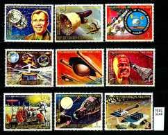 -GUINEA EQUATORIALE - Collaborazione USA-URSS - Year 1975 - Timbrati - Stamped -affranchiè -gestempelt - - Space
