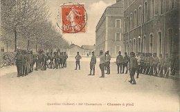 CPA-1910-21-BEAUNE-QUARTIER  COLBERT-16e CHASSEURS-CLASSE A PIED-TBE - Casernes