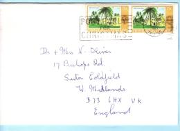 TRINIDAD & TOBAGO Brief Cover Lettre SST Slogan Cachet 363 Hotel (015169) - Trinidad & Tobago (1962-...)