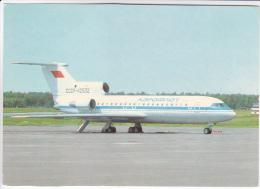 URSS Aeroflot  Yak-42  Aircraft - 1946-....: Modern Tijdperk