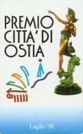 *ITALIA: PREMIO CITTA' DI OSTIA* - Scheda NUOVA (MINT) - Italie