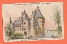 Chromo Image Chocolats Guérin-boutron Série Chateau De Maintenon 9 - Guerin Boutron