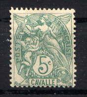 CAVALLE - N° 10*  - TYPE BLANC - Cavalle (1893-1911)