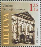 Lithuania 2009 Mih. 1008 The Great Synagogue Of Vilnius MNH ** - Lithuania